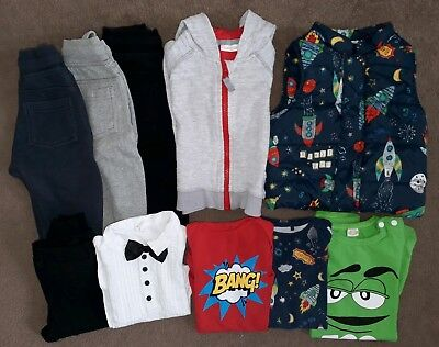 7458fda93e56 NEXT AND H M Baby Boy Clothes 9-12 Months Bundle USED - £14.00 ...