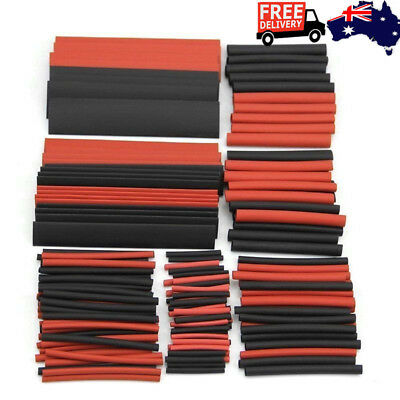 150pcs 2:1 Heat Shrink Sleeving Tube Kit Tubing Wrap Sleeve Waterproof Practical