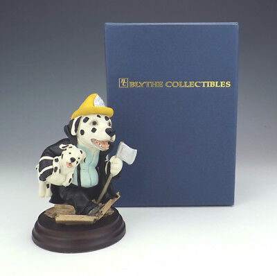 Blythe Collectibles - Fireman Potts In Action - Dogsbodies Classics Dalmatian
