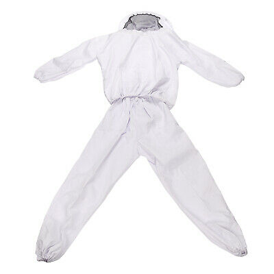Beekeeping Smock Veil Clothes Bee Suit With Gauze Protective Jacket Pants