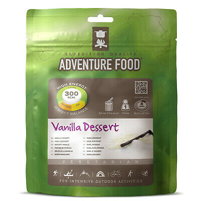 ADVENTURE FOOD Vanilla Desert – Outdoor Mahlzeit Not Verpflegung Nahrung Ration