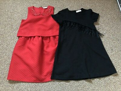 Girls Dress Bundle 7-8 Years Old  (Kids Party Clothes)