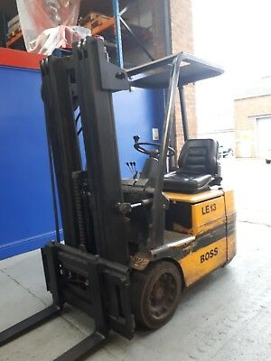 Boss LE13 Battery Electric Fork lift Truck with Triplex Mast