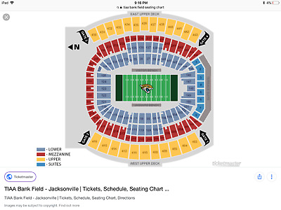 Jacksonville Jaguars Vs Pittsburgh Steelers 6 Tickets Available 111818