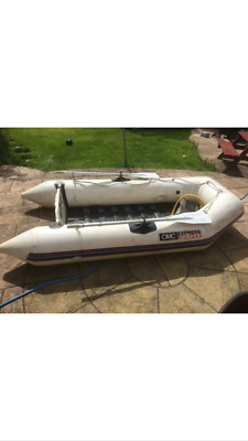 Inflatable boat,  outboard and accessories