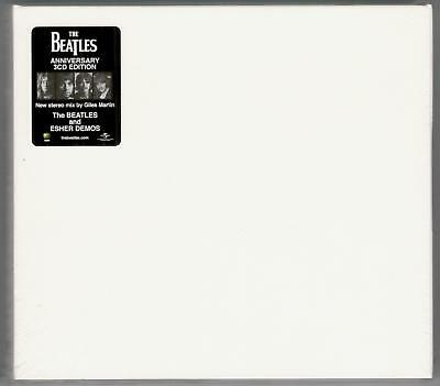 The Beatles The White Album 50Th Anniversary Deluxe Edition Sealed 3 Cd Set New