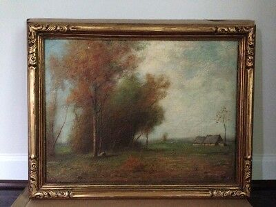 Early George T. Conroy Original Oil Painting, Listed Artist - Signed