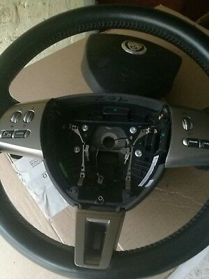 Jaguar XF Leather Steering Wheel With Paddle Change