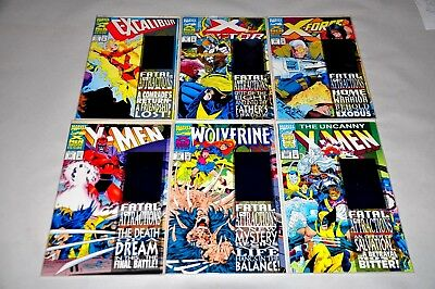 X-Men Fatal Attractions Set HIGH GRADE NM Wolverine 75 X-men 25 304