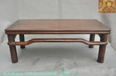 Old China huanghuali Wood Hand carved table Writing desk coffee table Tea table