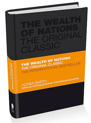 The Wealth of Nations: The Economics Classic - A selected edition for-ExLibrary