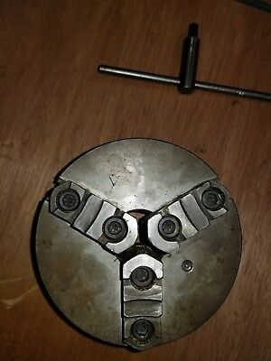 """6"""" Lathe Chuck Made in Poland 3 Jaw BIAL D1-4"""