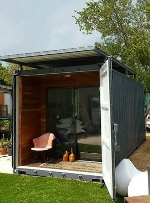 20' Custom Container HI Cube Backyard Hideaway Home / Office - KEEN DEVELOPMENT
