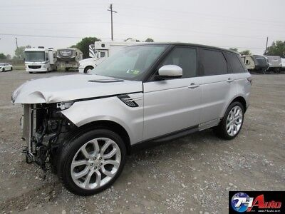 2014 Land Rover Range Rover Sport 3.0L V6 Supercharged HSE salvage repairable 2014 3.0L V6 Supercharged HSE salvage repairable Used 3L V6 24V Automatic 4WD