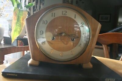 Smith 8 Day Striking Clock - 1930-1955 - With Floating Balance