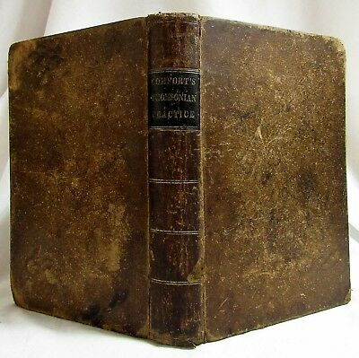 Antique 1843 THE PRACTICE OF MEDICINE ON THOMSONIAN PRINCIPLES Disease Insanity