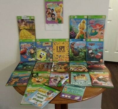 20 Leap Frog Tag Reader Books & Stylus Pen Interactive Reading System and more