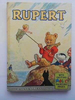 Collectable Rare 1963 Rupert Annual. Magic Painting Untouched.