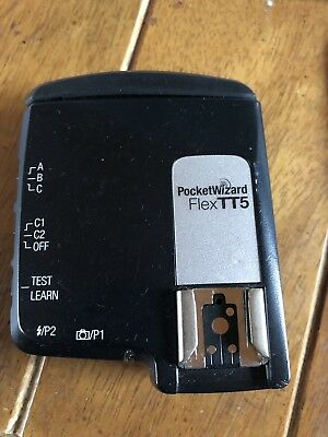 PocketWizard MiniTT5 Radio Slave Transmitter for Nikon i-TTL Flex System Free Sh