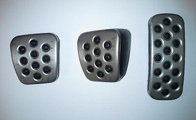 New Genuine Vauxhall  INSIGNIA  Stainless Steel Pedal Pads Kit 13301697