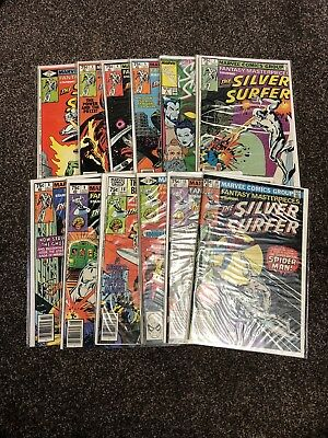 Fantasy Masterpieces - The Silver Surfer 1979 # 2,3,4,5,7,8,9,10,12,13,14