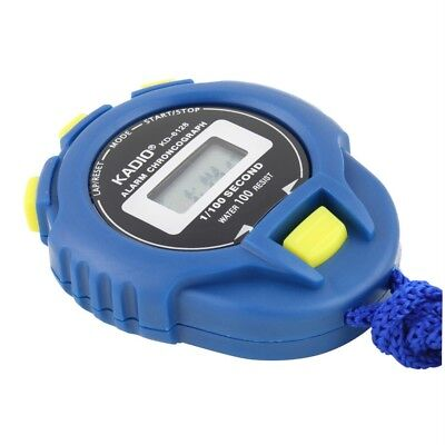 KD-6128 Second Chronograph Digital Timer Stopwatch Sport Counter Odometer Watch