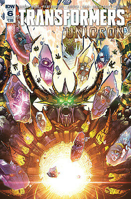 Transformers Unicron #6 Cvr A (IDW, 2018) NM