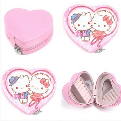 Hello Kitty Jewelry Box With Mirror Sanrio Great For Gift Dear Daniel LAST ONE