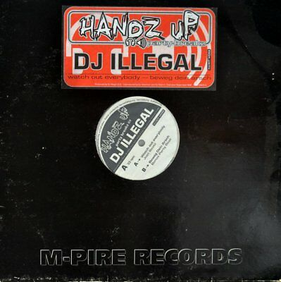 """DJ Illegal - Watch Out Everybody Vinyl 12"""""""