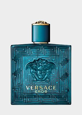 Versace Eros Cologne for Men 3.4oz EDT New in the Tester Box WITH CAP