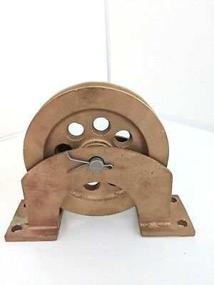 BRONZE PULLEY Vintage Collectible Antique | BEST OFFER!