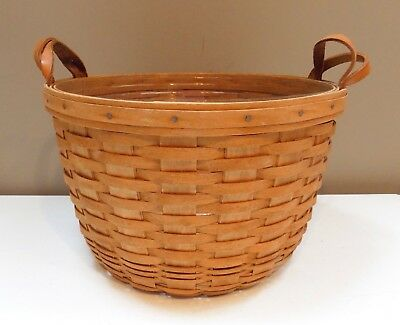 Longaberger 1992 Hostess Wildflower Basket With Protector