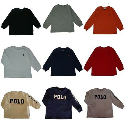 Genuine Ralph Lauren Polo baby boys small Pony long sleeve T Shirt top 3 - 24 m
