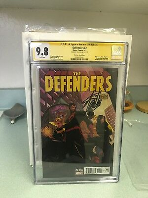 The Defenders Cgc SS 9.8 Stan Lee Box Edition