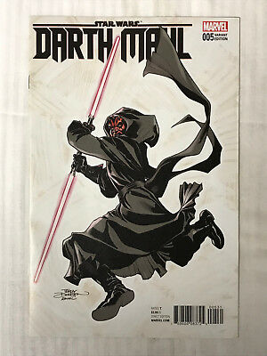Star Wars Darth Maul #5 - 1:25 Variant! VF/NM - Terry Dodson Cover!