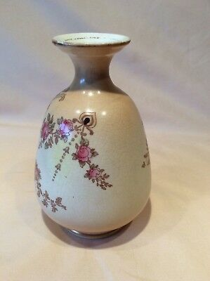 Antique Crown Devon Fieldings Blush Ivory Decorative Vase Etna