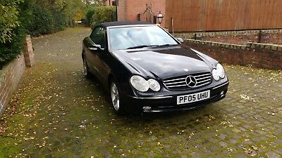 Mercedes clk 200 convertible Aventgarde low miles Very good condition