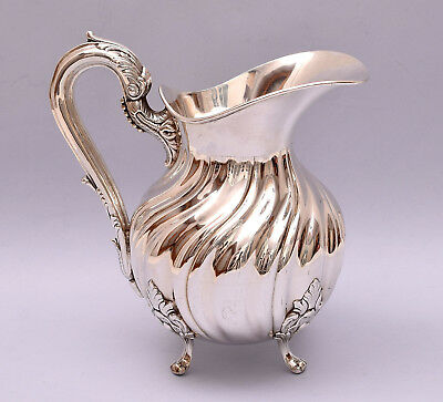 VERY NICE SOLID SILVER PITCHER. HEIGHT: 30 cm / 11.81 inch. WEIGHT: 740 grams
