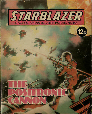 The Positronic Cannon,starblazer Space Fiction Adventure In Pictures,no.30,1980