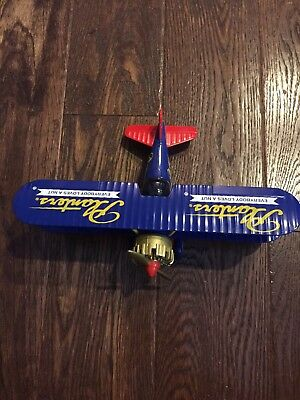 liberty classics diecast planters peanuts airplane limited edition