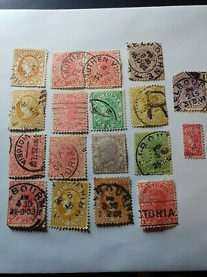 Australian stamps(Victorian state stamps)