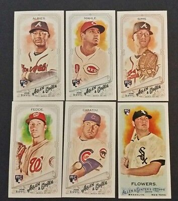 2018 Topps Allen&Ginter Lot of 6 MINI's ROOKIES/NEW/See Pics