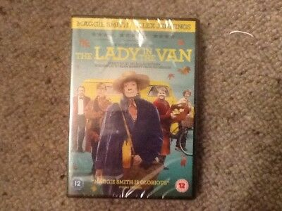 The Lady in the Van DVD New & Sealed Maggie smith