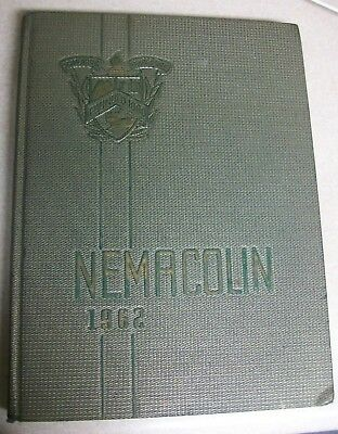 Vintage 1962 Nemacolin Teachers College Yearbook Frostburg State Maryland