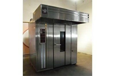 Bakers Aid BARO-2E/208V Double Rack Electric Roll In Rotator Oven 208V 3PH