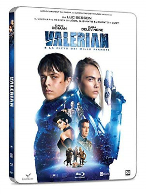Valerian E La Citta` Dei Mille Pianeti (Ltd Steelb BLU-RAY NEW