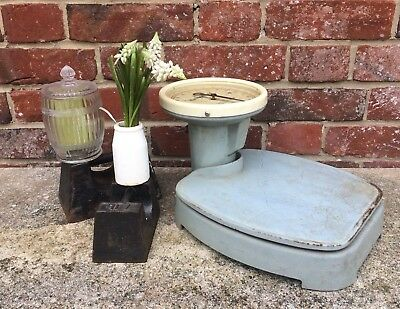 Baby Blue Vintage Waymaster Weight Scales Up To 20 Stone / 280lbs