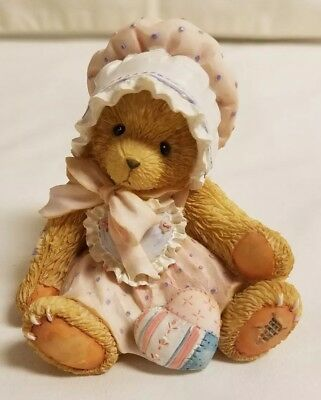 Cherished Teddies Bear Figurine Kelly You're My One And Only Heart 916307