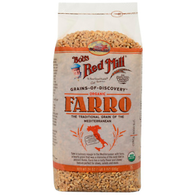 Bob's Red Mill Organic Farro 24 oz (680 g) Pkg