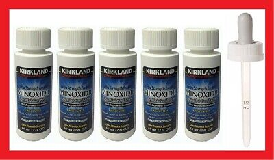 Kirkland Minoxidil 5% Extra Strength Hair Regrowth Solution 5 Months Supply